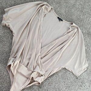 Dynamite wrap low bodysuit